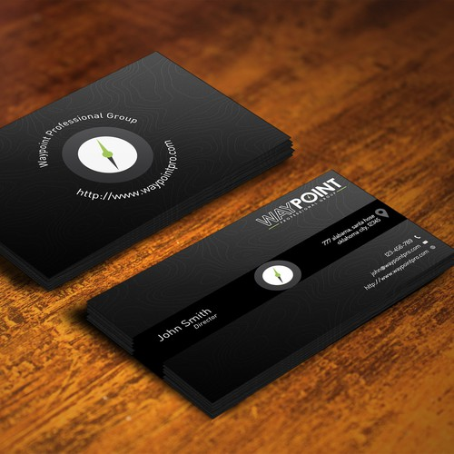 Design an epic business card for an elite group of veterans
