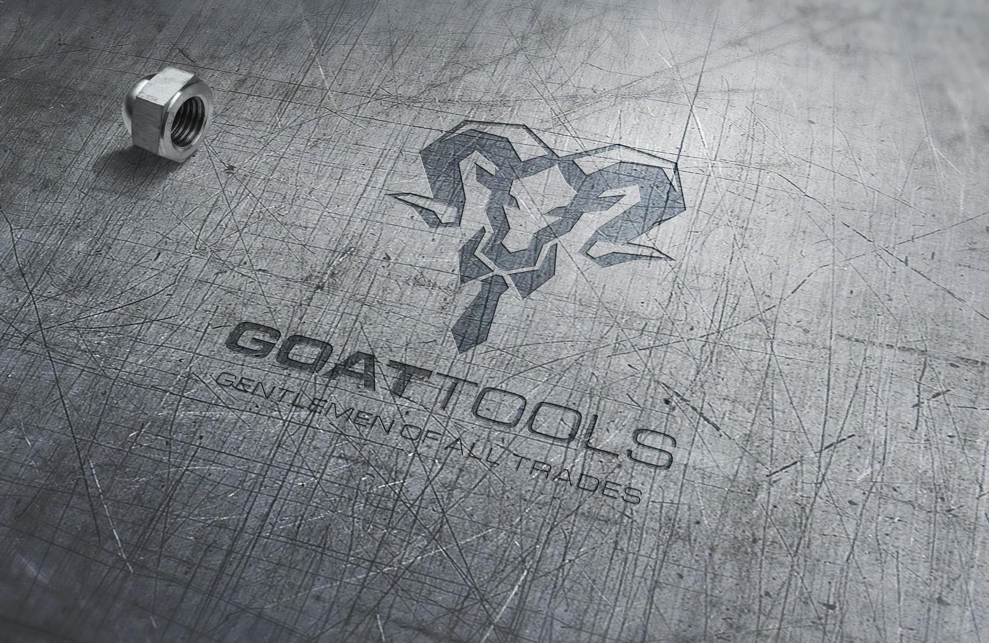 New multi-tool company needs a classic geometric goat face logo.