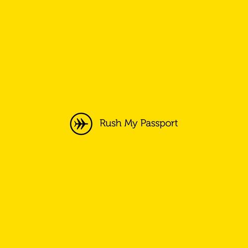 Logo for Rush My Passport