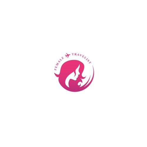Female Travelist Logo