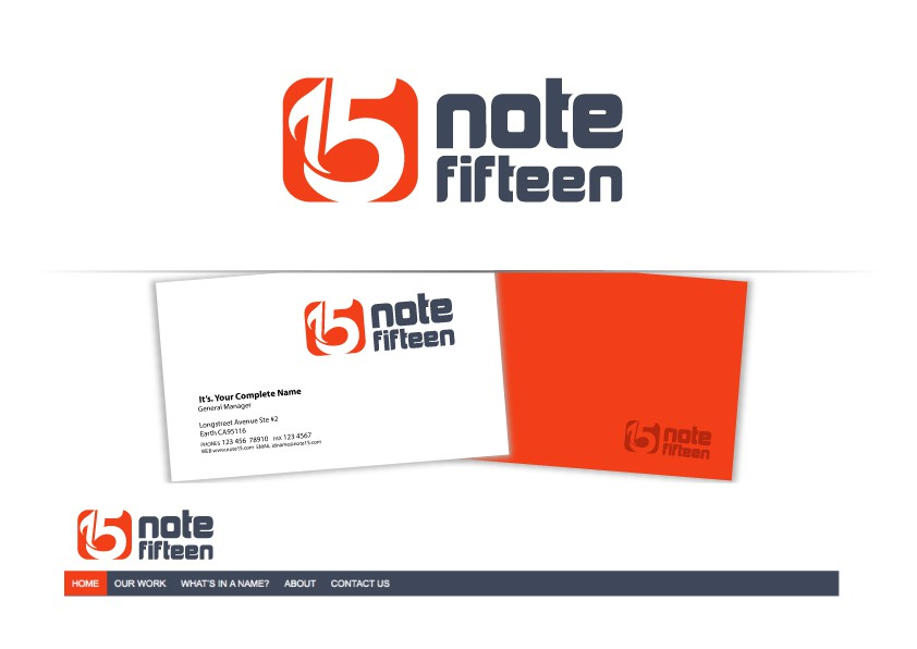 New logo wanted for Note Fifteen - like music to your website!