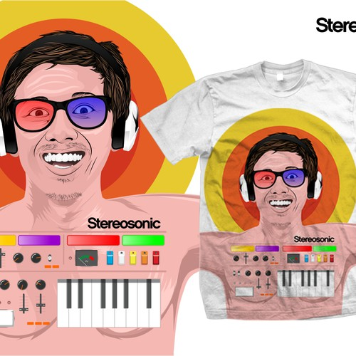 T-Shirt for Stereosonic design contest!