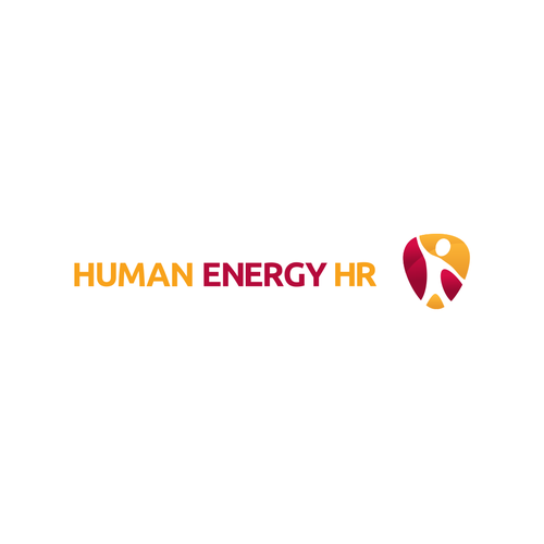 Logo for a specialist recruitment company -- Human Energy HR