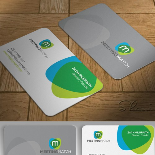 Bold and Simple Business Card Design