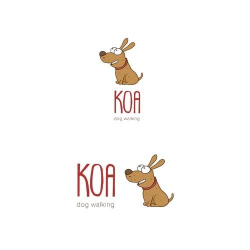 Koa - dog walking