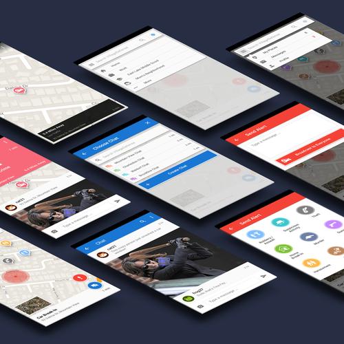 Modern Map App
