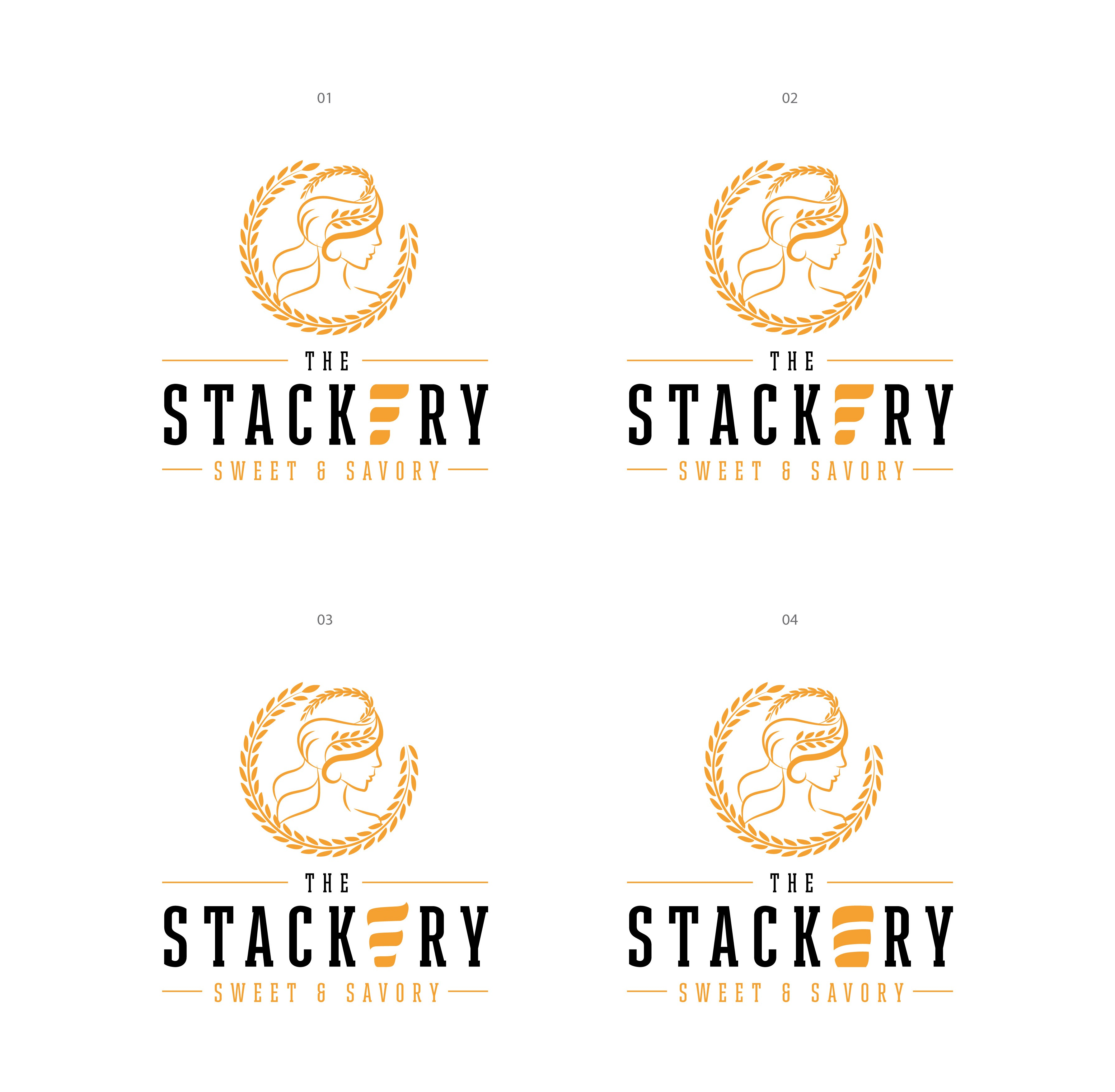 Design new innovative logo and brand for The Stack Attack - Sweet and Savory