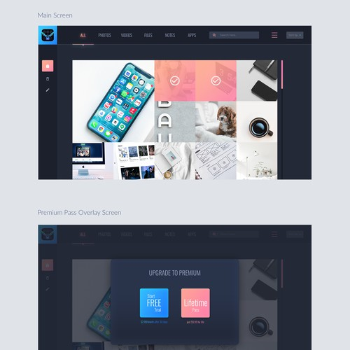 Desktop App Design