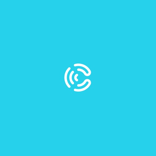 Fresh logo for a young, growing communications company