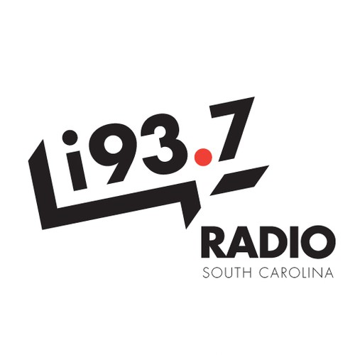 Trendy logo for South Carolina radio station