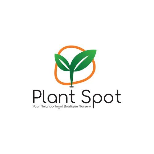 'Plant Spot' Logo Design Concept