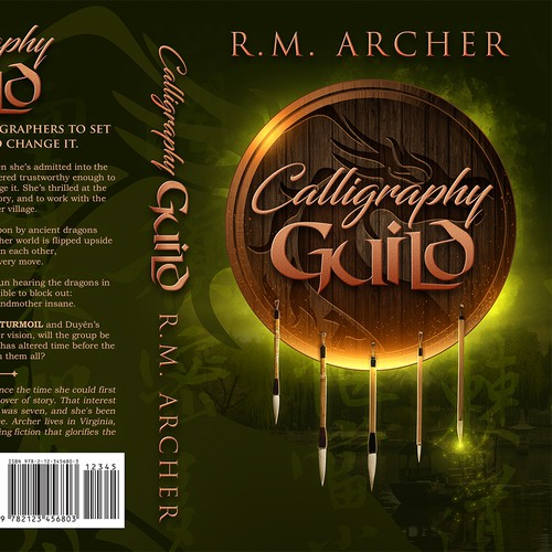 Calligraphy Guild - Fantasy Cover