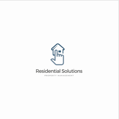 Logo for real estate and property management company