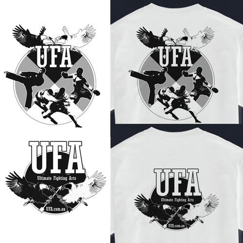 T Shirt design for Martial Arts Gym