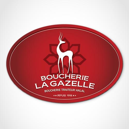 Logo pour une Boucherie