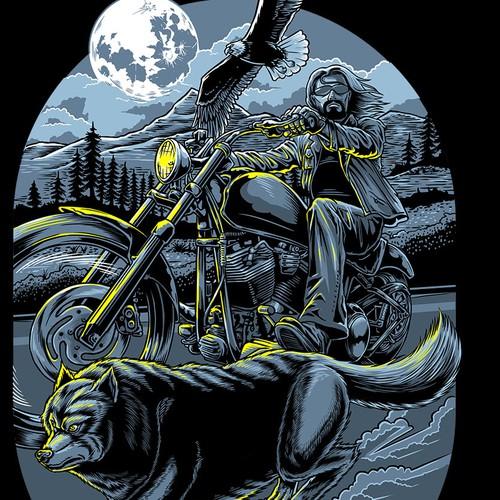 Live Free Ride Free_Skull Society
