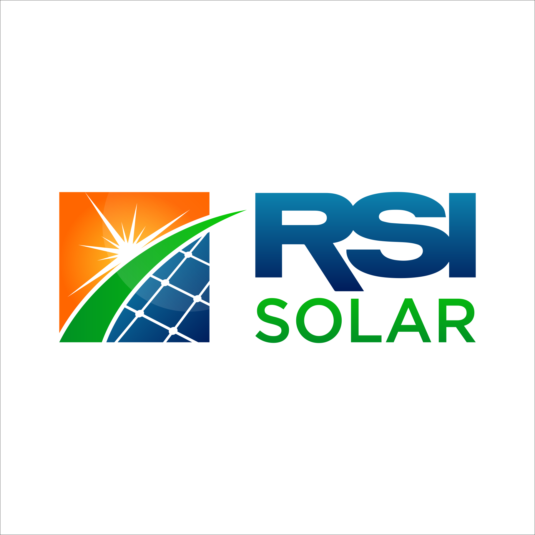 RSI Solar Needs a Cool, New Energy Logo