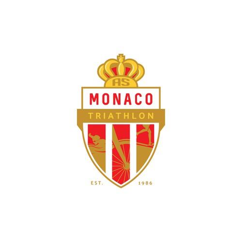 AS MONACO TT Logo Design Concept
