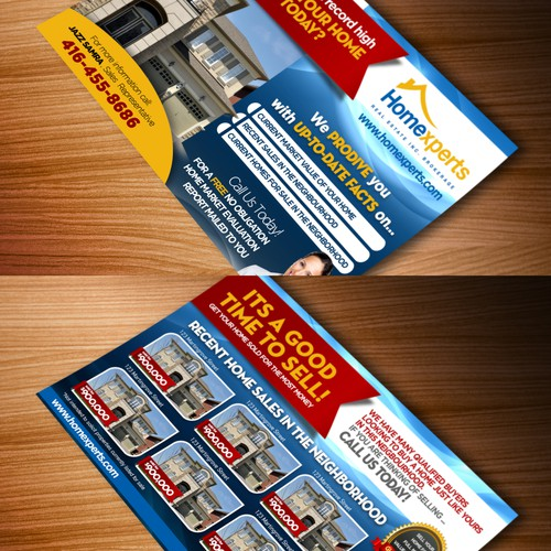 Help Homexperts Real Estate Inc with a new postcard or flyer