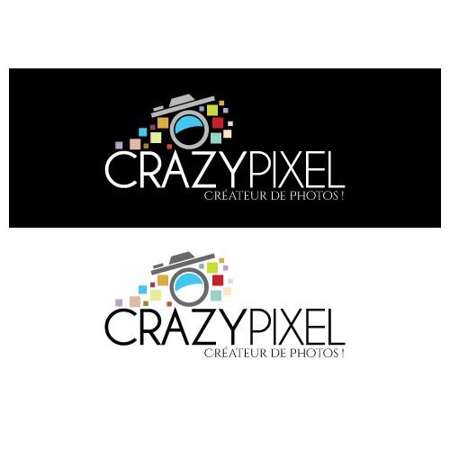 Créez THE Logo CRAZY PIXEL ! Photographe