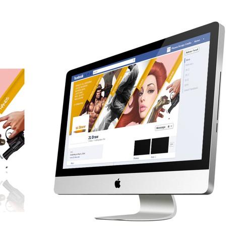 Design a facebook banner image.