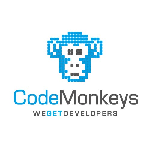 Logo and business card for Code Monkeys the world over!