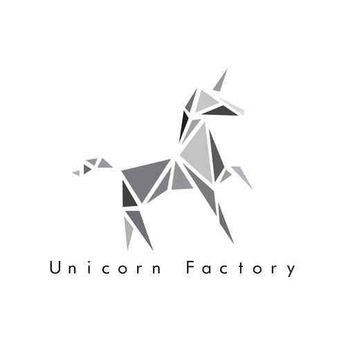 Unicorn factory logo