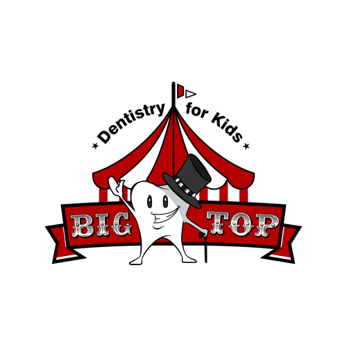 Big Top Dentistry for Kids needs a new logo