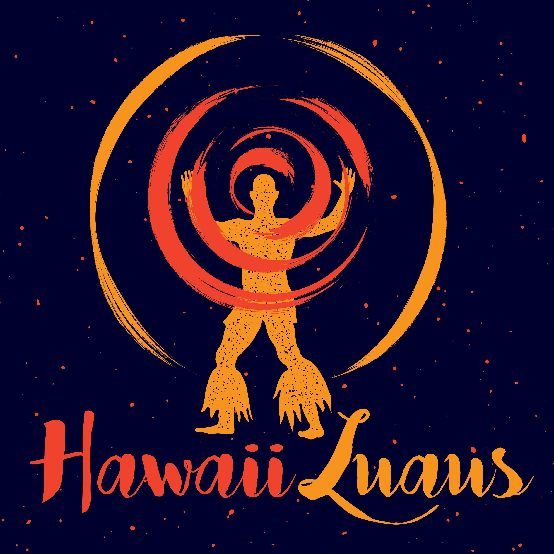Design a Hawaiian Luau logo that makes you want to hula