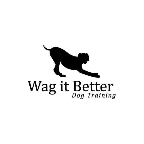 Logo concept for dog training business