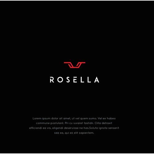 Rosella logo design