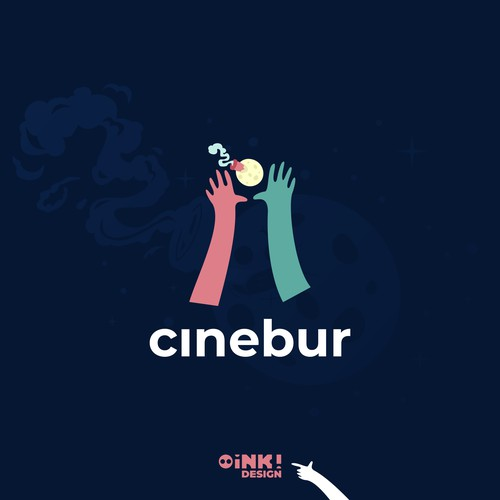 Logo and brand for Cinebur