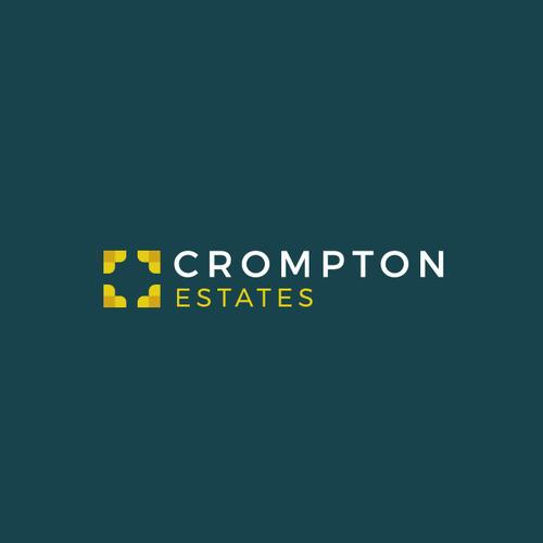 Minimal Logo For Crompton Estates