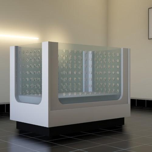 Industrial Design: Modern baby Crib
