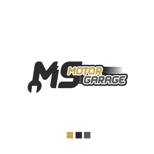 ms motor garage logo