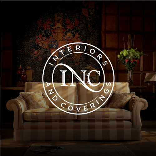 logo for a luxury boat upholstery/interiors and exterior covers
