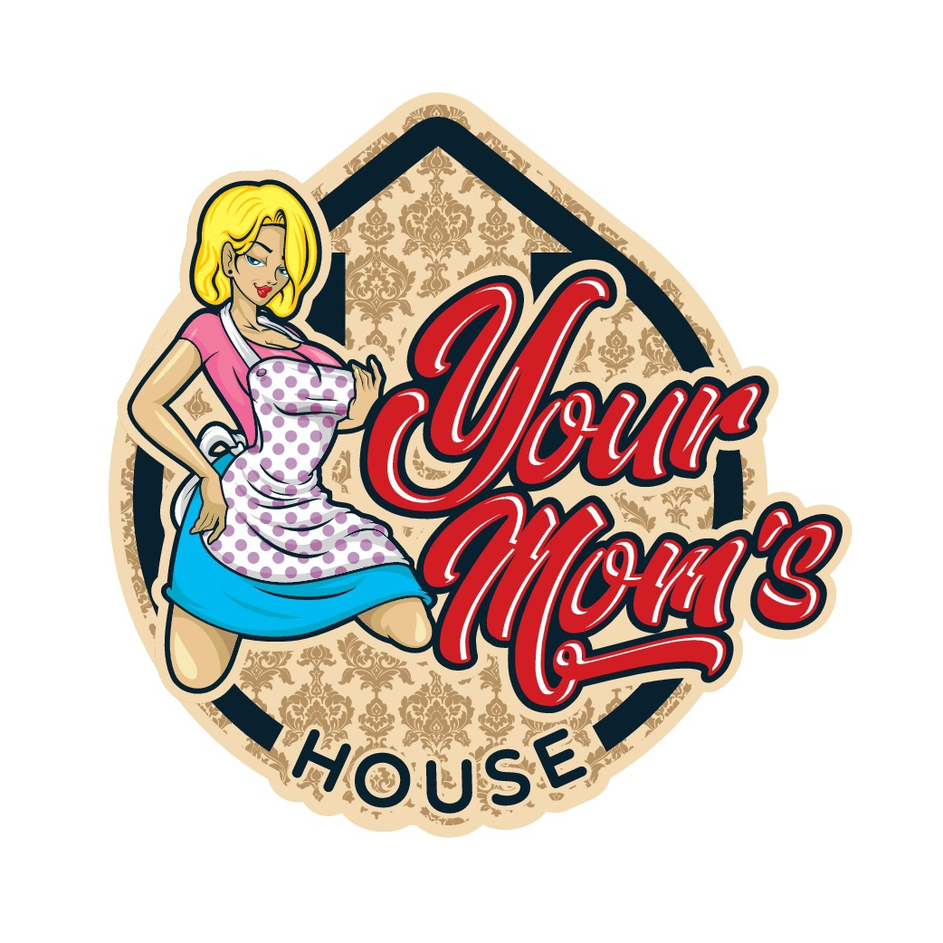 Trendy bar looking for Logo - Your Mom's House