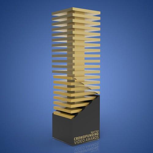 Next Gen Crowdfunding Video Awards Trophy