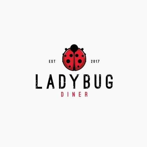 Logo concept for Ladybug Dinner-finalist