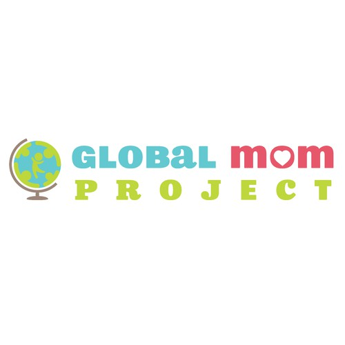 Create internationally inspiring logo for Global Mom Project
