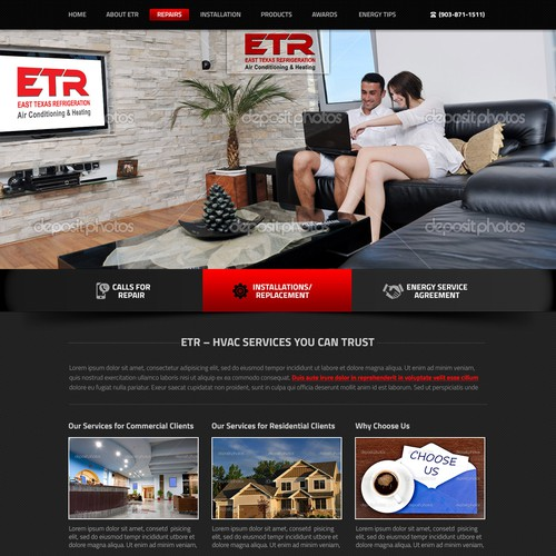 Web proposal for ETR