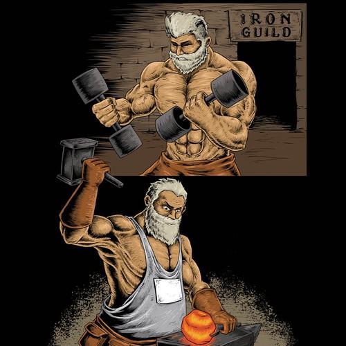 gym tshirt design