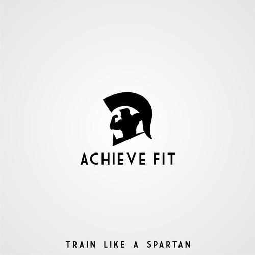 Logo concept for ACHIEVE FIT