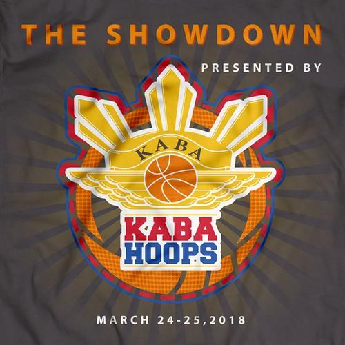 Basketball Tournament T-Shirt Design