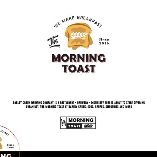 Breakfast morning restuarant logo
