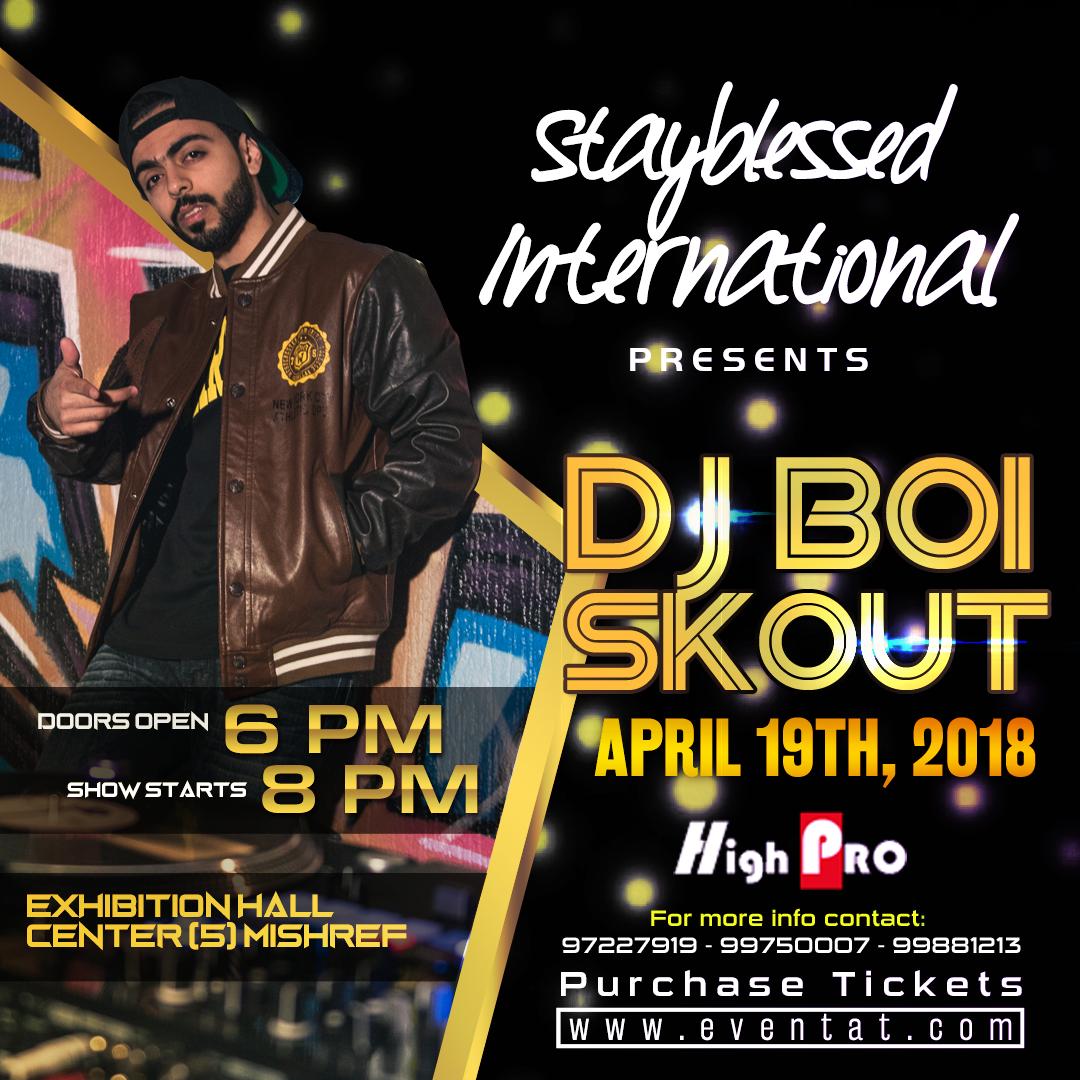 DJ Boi Skout flyer