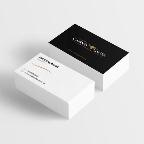 Cabinet Genies Business Card