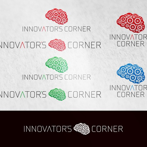 Logo for an inspirational community sparking innovation