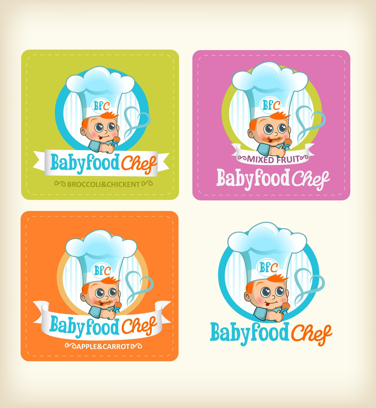 Help Babyfoodchef with a new logo