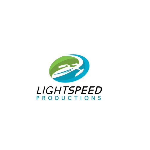 Light speed ferry logo